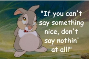 thumper can't say something nice